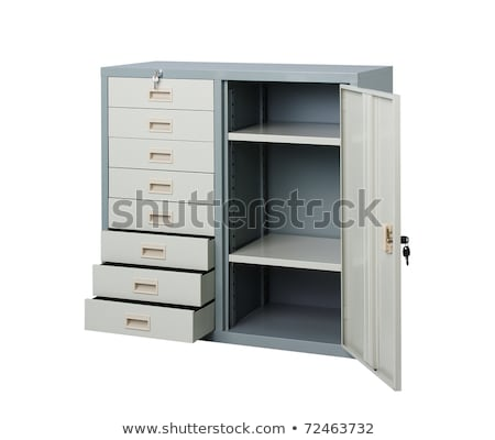 Empty cupboard to putting your files or documents into it Stock photo © JohnKasawa