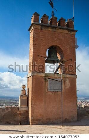 башни паруса Альгамбра известный колокола Испания Сток-фото © CaptureLight