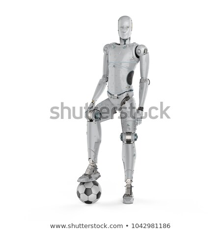robot playing soccer stock photo © kirill_m