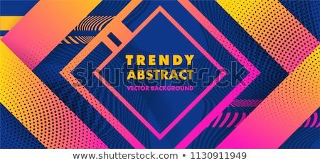 аннотация синий геометрия красочный шаблон текстуры Сток-фото © bharat
