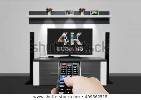 4K television display Stock photo © REDPIXEL
