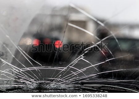 Smashed windscreen Stock photo © ocskaymark
