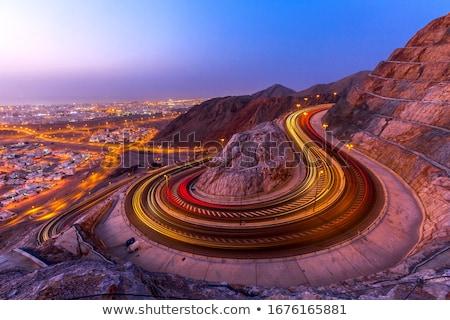 minaret · Oman · foto · typisch · achtergrond · woestijn - stockfoto © w20er