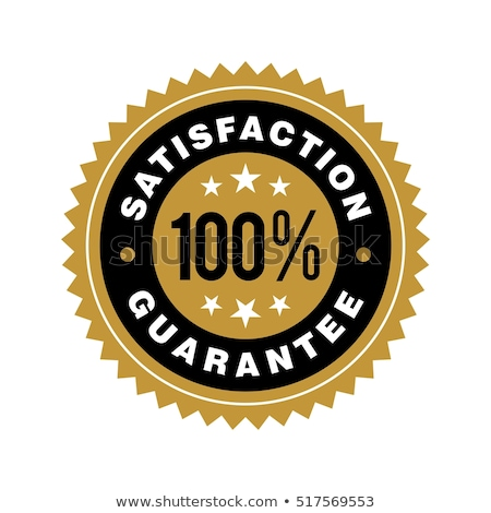 100 Satisfaction Guaranteed Label Stock photo © WaD