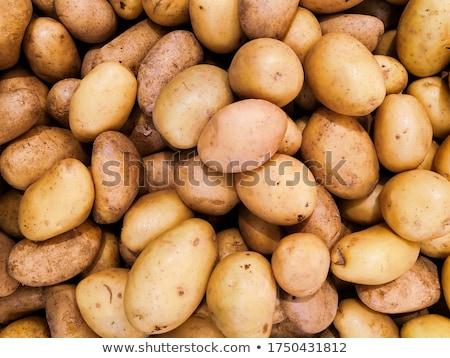 crudo · patatas · almuerzo · frescos - foto stock © yelenayemchuk