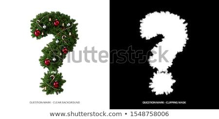 Christmas Question Stock photo © Lightsource