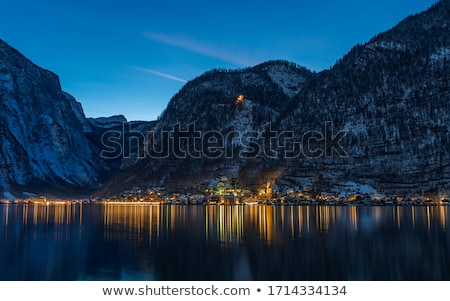 Alpi montagna Austria nebbia estate panorama Foto d'archivio © ultrapro