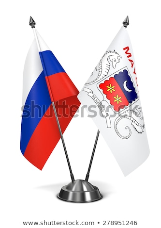 russia and mayotte   miniature flags stock photo © tashatuvango