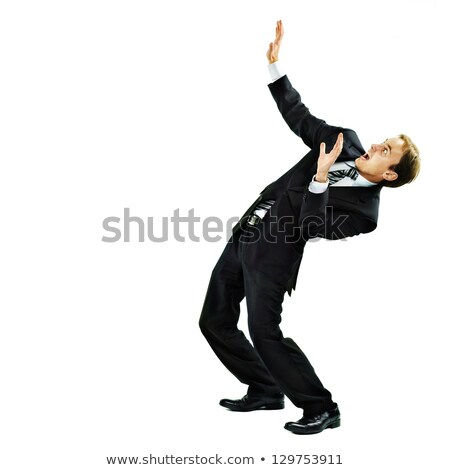 Business man flick something Stock photo © fuzzbones0