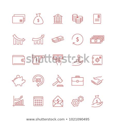 pound · imzalamak · vektör · ikon · dizayn · finanse - stok fotoğraf © rizwanali3d