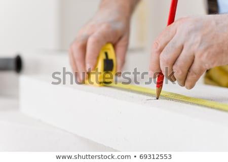 家の修繕 · 便利屋 · 測定 · レンガ · ワークショップ · インテリア - ストックフォト © CandyboxPhoto