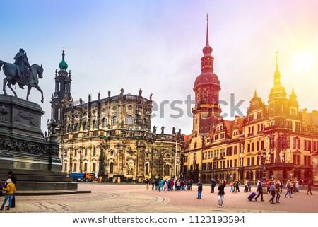 şehir dresden Almanya binalar Stok fotoğraf © unkreatives