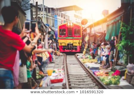 Straat vruchten Bangkok Thailand voorjaar werk Stockfoto © Mariusz_Prusaczyk
