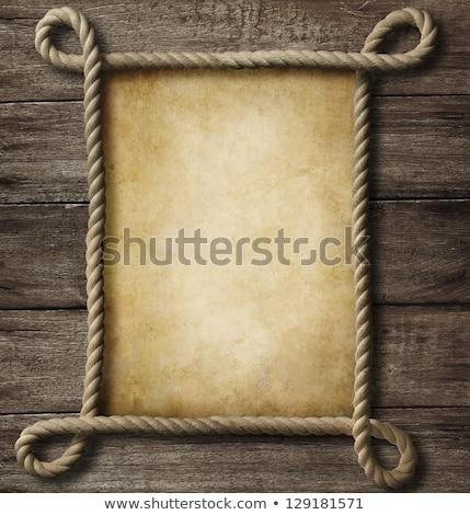 Brązowy liny vintage wektora sztuki ilustracja Zdjęcia stock © vector1st