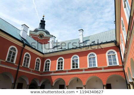 palace in Kamenice nad Lipou, Czech Republic Stock photo © phbcz