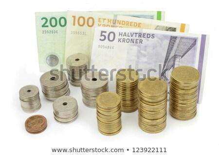 Different coins of Danish money Stock photo © CaptureLight