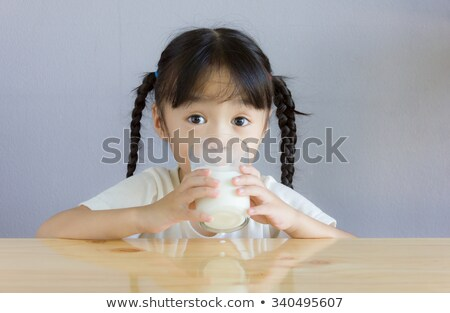 pigtail of a very young child Stock photo © Giulio_Fornasar
