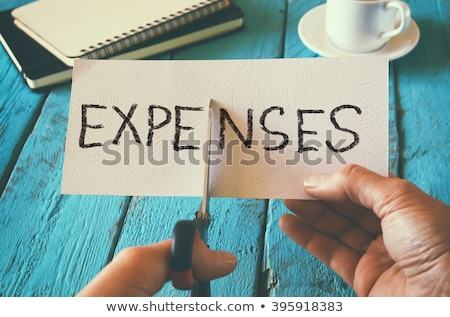 Expenses Cut Stock photo © devon