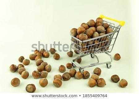 Hazelnuts in shop Stock photo © zurijeta