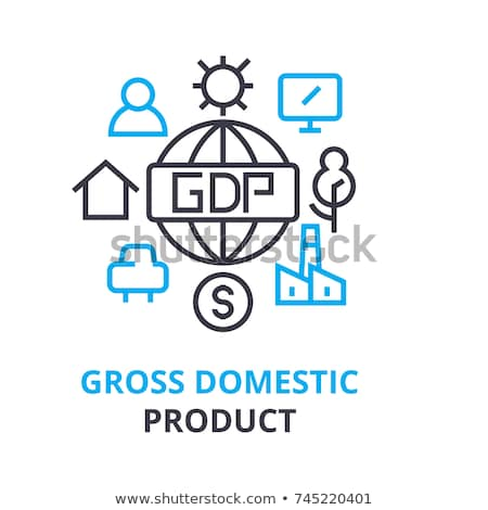 Gross Domestic Product or GDP concept Stock photo © stevanovicigor