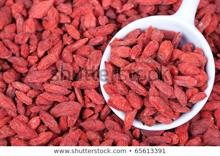 Stockfoto: Dried Wolf Berries