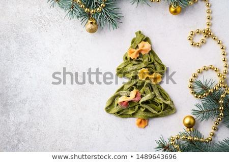 essiccati · spinaci · nastro · pasta · alimentare · verde - foto d'archivio © Digifoodstock