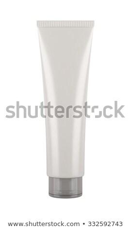 изолированный трубка кремом белый стороны красоту Сток-фото © popaukropa