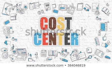 Cost Center in Multicolor. Doodle Design. Stock photo © tashatuvango