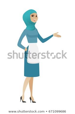 мусульманских чистого руки из жест Сток-фото © RAStudio