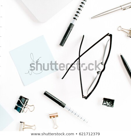 Just Do It on Laptop in Modern Workplace Background. Stock photo © tashatuvango