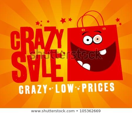 устрашающий продажи баннер плакат дизайна маркетинга Сток-фото © SArts
