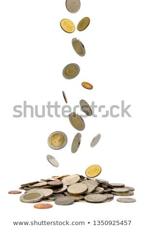 コイン 下がり 財布 コイン 運動 誰も ストックフォト © IS2