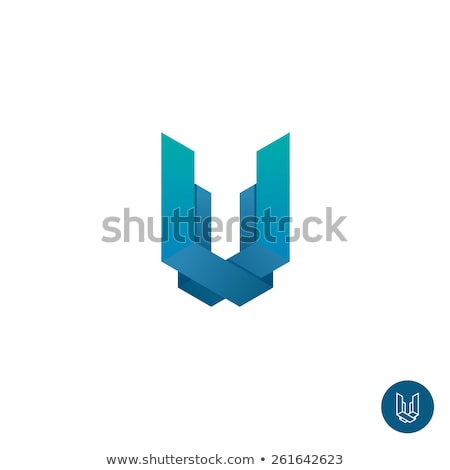 house logo with letter u sign logo template stock photo © taufik_al_amin