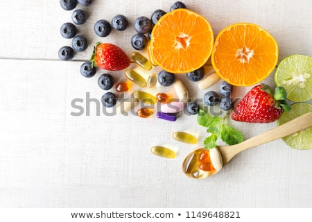 Food Vitamin Supplement Stock photo © Lightsource