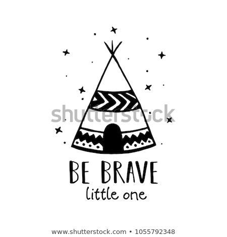 Be Brave Little One Stock photo © ivaleksa