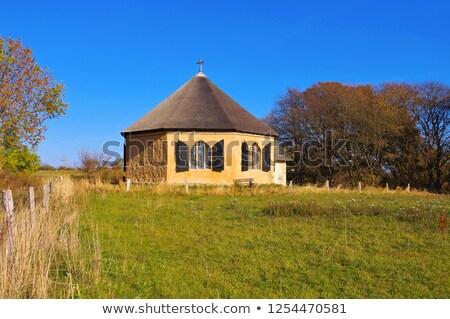 chapel Vitt near Kap Arkona, Ruegen in Germany Stock photo © LianeM