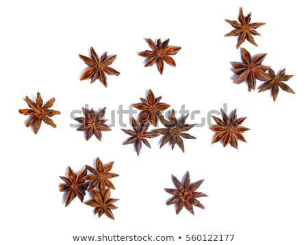 Estrela anis secas fruto topo ver Foto stock © maxsol7