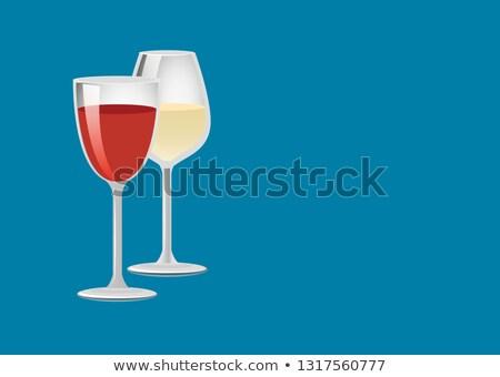 görmek · şarap · şarap · şişesi · cam - stok fotoğraf © robuart