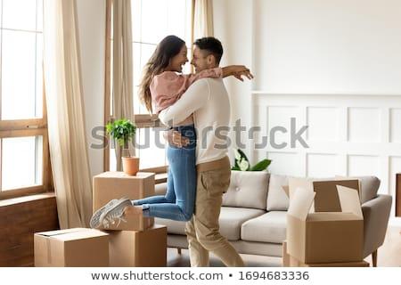 愛する カップル ルーム 表示 女性 ストックフォト © boggy