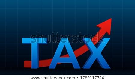 Verkoop banner pijl grafieken charts Stockfoto © robuart