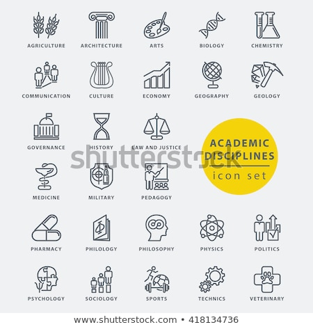 History and culture icons Stock photo © netkov1
