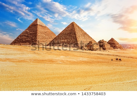 Desert of Giza Stock photo © Givaga