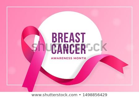 Kanker teken grafisch ontwerp sjabloon vector geïsoleerd Stockfoto © haris99