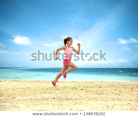 schildpad · eiland · Seychellen · palmbomen · strand · hemel - stockfoto © andreypopov