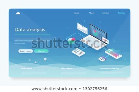 vetor · on-line · educação · criador · negócio · ilustração - foto stock © robuart