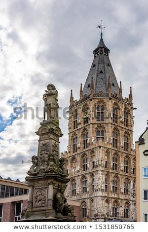 cologne city hall tower germany stock photo © borisb17