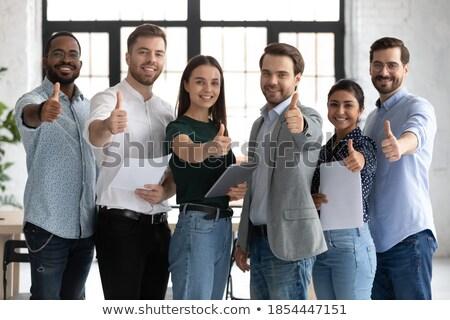 Zdjęcia stock: Szczęśliwy · młodych · konsultant · pomoc · klienta · wyboru