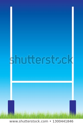 Rugby posts Stock photo © montego