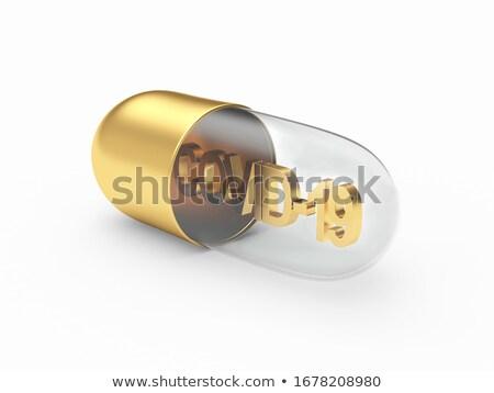 Szimbólum bioveszély fehér izolált 3d illusztráció tudomány Stock fotó © ISerg