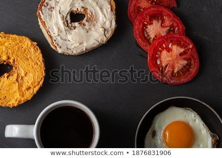 Colazione gustoso fatto in casa pancetta Foto d'archivio © dash